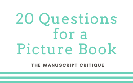20 Questions for a Picture Book