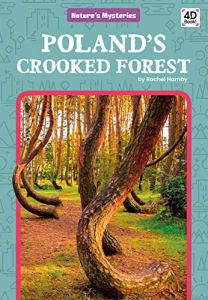 Book Cover image shows a forest of trees with dramatically curved trunks.